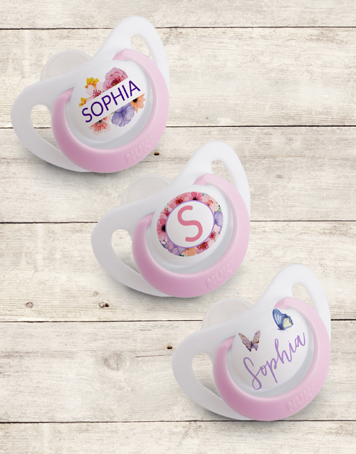 baby: Personalised Floral Gift Set!