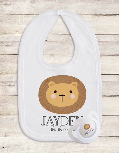 baby: Personalised Animal Gift Set!
