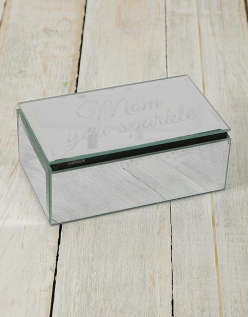 christmas: Personalised Mirror Trinket Box!