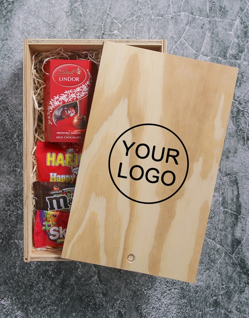corporate: Customised Printed Man Crate!