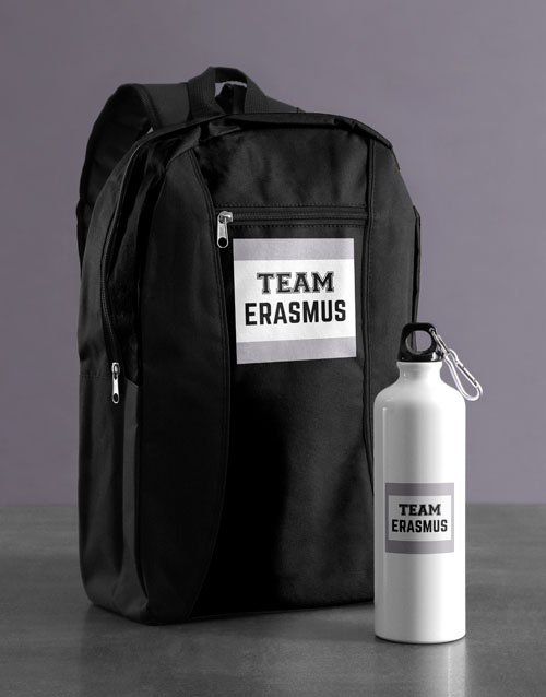 spring-day: Personalised Team Backpack & Waterbottle!