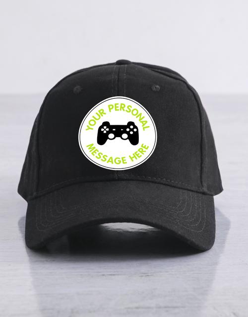 clothing: Personalised Gamer Cap!