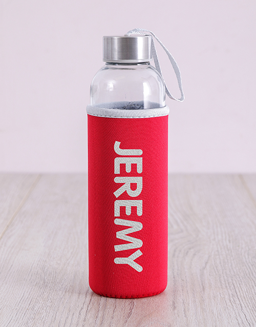 activewear: Personalised Bold Waterbottle!