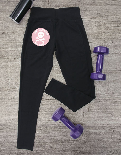 activewear: Personalised Skull Leggings!