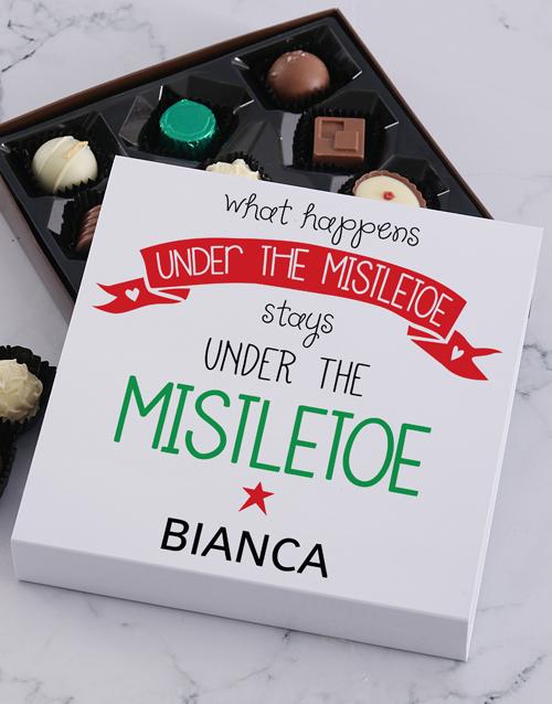 christmas: Personalised Mistletoe Tray!