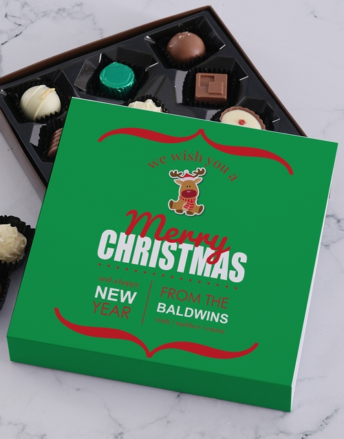 christmas: Personalised Christmas Family Tray!