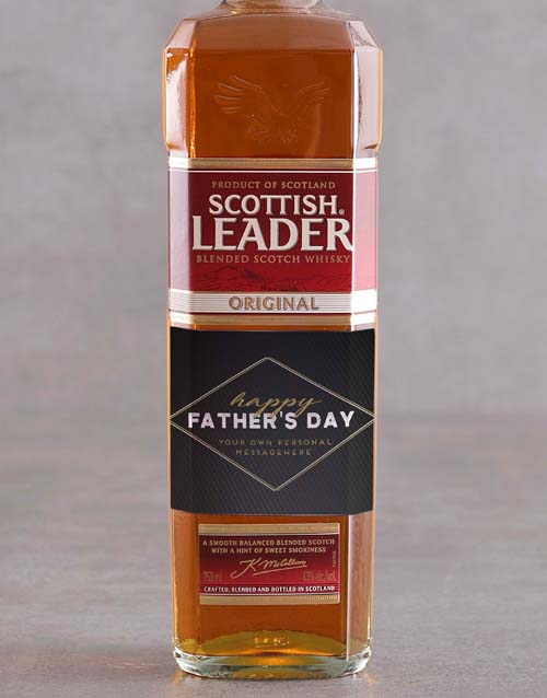 fathers-day: Personalised Fathers Day Scottish Leader!