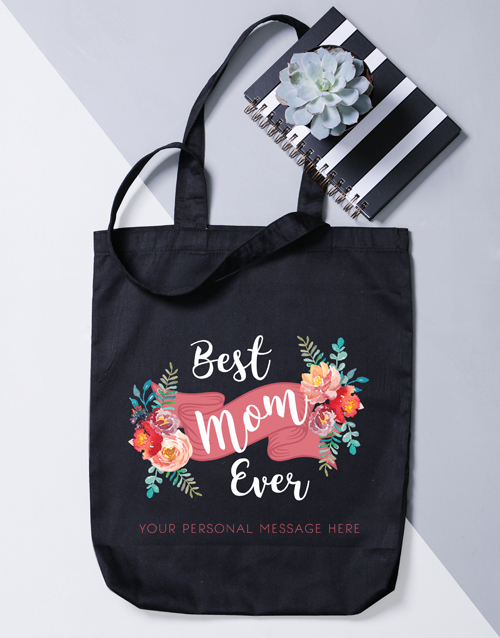 apparel: Personalised Tote Bag For Mom!