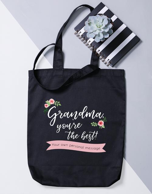 apparel: Personalised Best Gran Tote Bag!