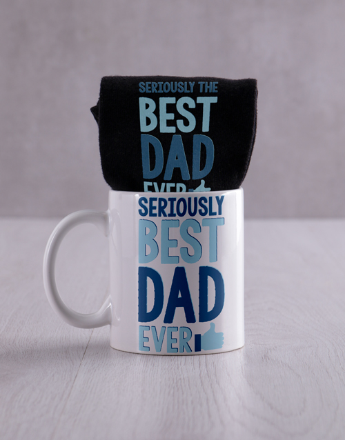 fathers-day: Personalised Best Dad Socks and Mug!