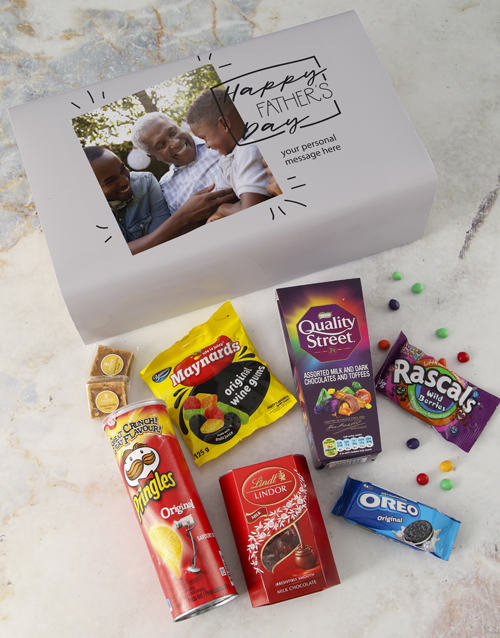 personalised: Personalised Fathers Day Photo Gourmet Box!