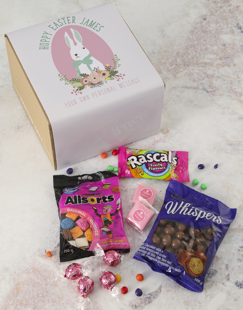 easter: Personalised Hoppy Easter Gourmet Chocolate Box!