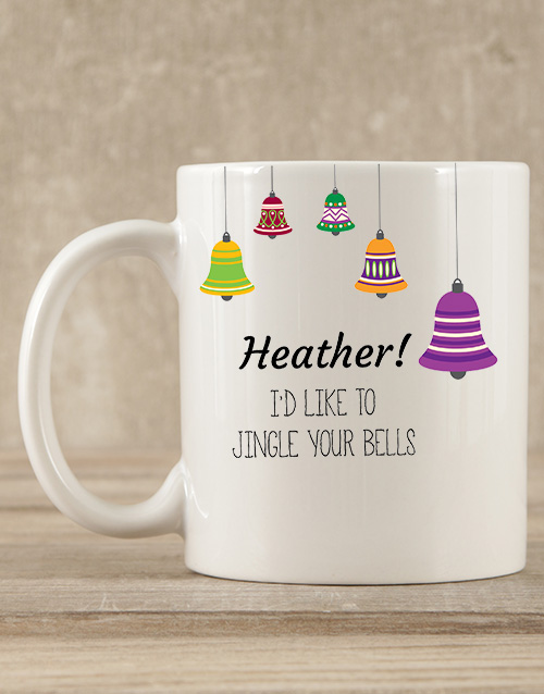 christmas: Personalised Jingle Your Bells Mug Gift!