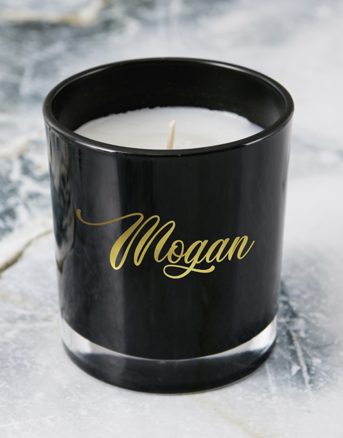 bath-and-body: Personalised Foil Name Candle!