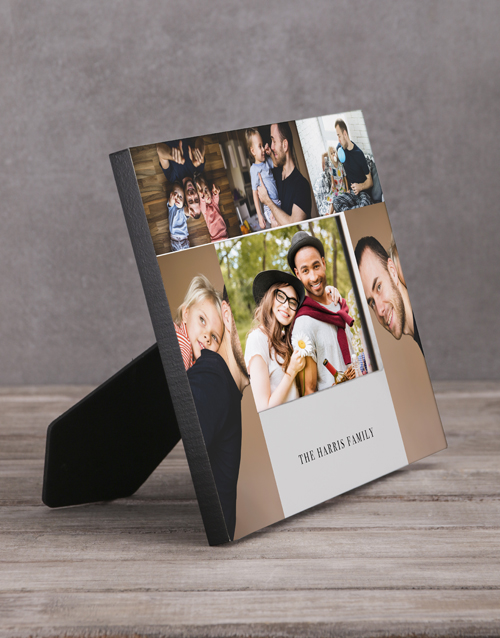 home-decor: Personalised Family Multi Photo Frame !
