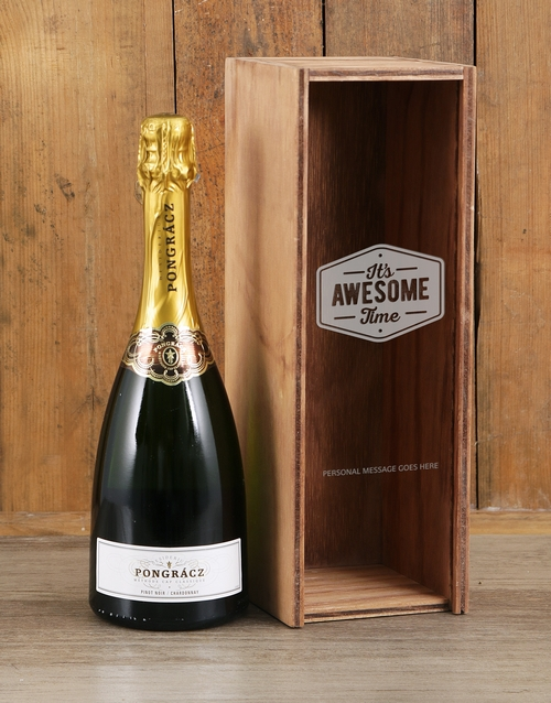 personalised: Personalised Awesome Time Pongracz Crate!
