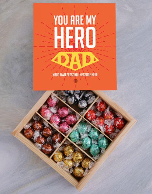 chocolate: Personalised My Hero Treasure Box!