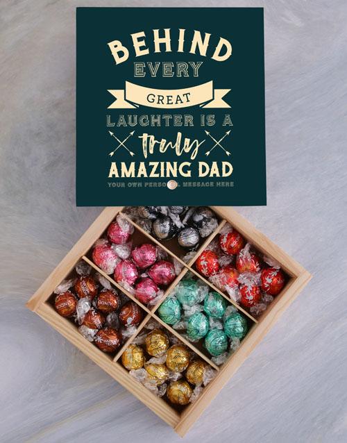 chocolate: Personalised Amazing Dad Treasure Box!