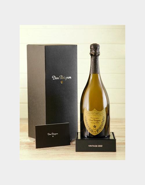 valentines-day: Dom Perignon in a Wooden Gift Box!