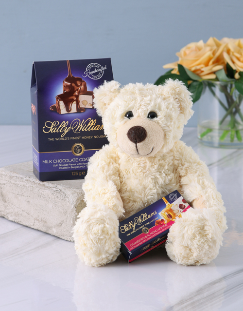 good-luck: Ultimate Sally Williams and Teddy Bear Gift!