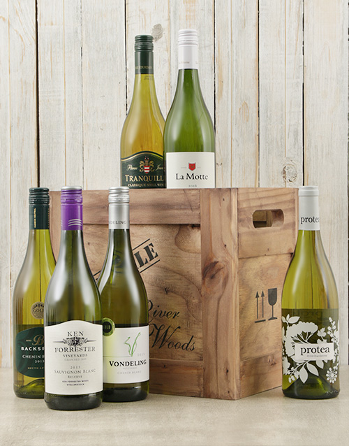 fine-alcohol: Crate of Six White Wines!