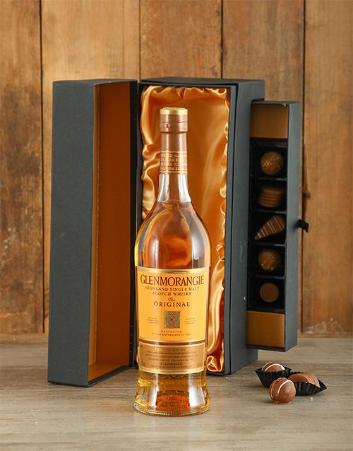fine-alcohol: Glenmorangie 10 Year with Truffles!