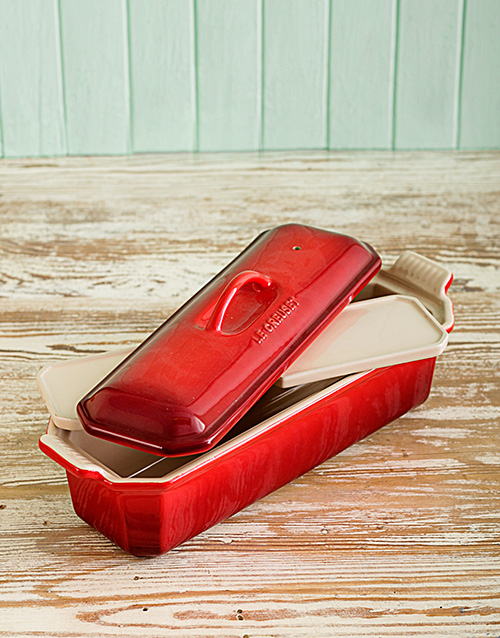 homeware: Le Creuset 32cm Terrine Dish with Press!