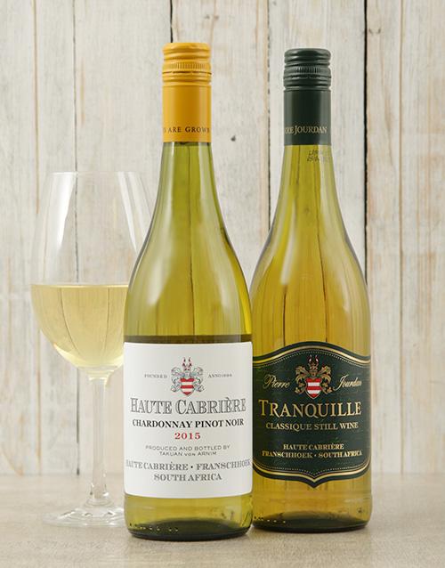 fine-alcohol: Haute Cabriere Chardonnay and Pierre Jourdan Tranq!