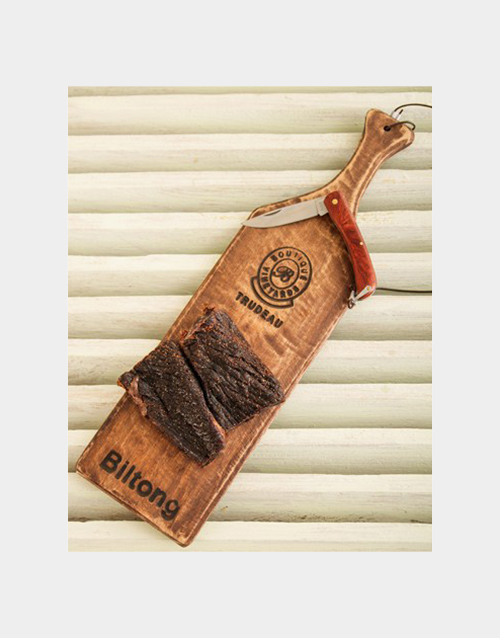 fathers-day: Trudeau Board with Biltong!