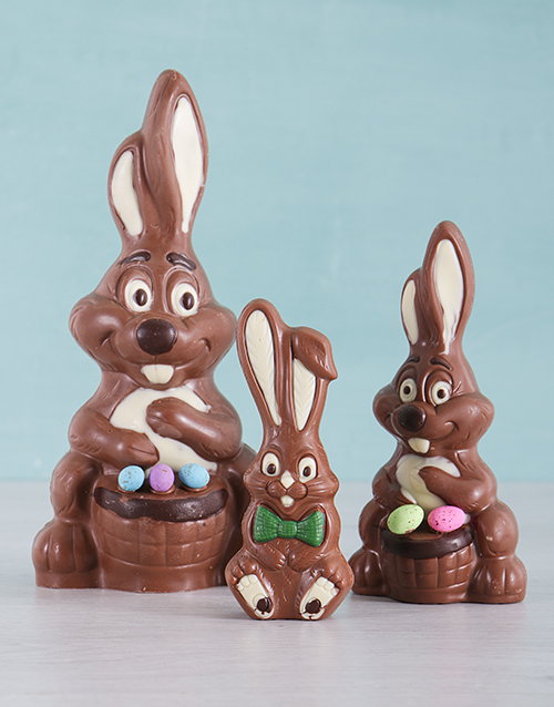 easter: Three Little Easter Bunny Hamper!