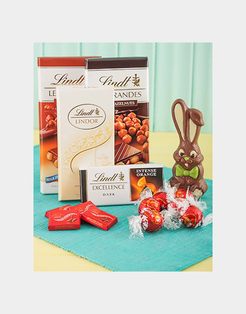 chocolate: Lindt Chocolate Easter Hamper!