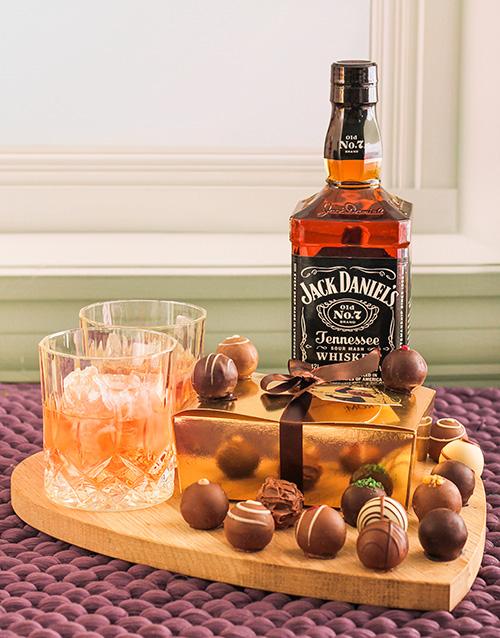 birthday: Jack Daniels & Chocolate Truffles!