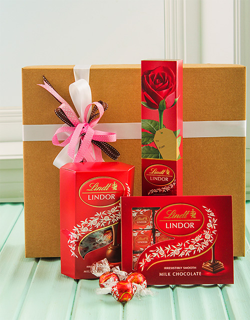 chocolate: Lindt Chocolate Hamper!