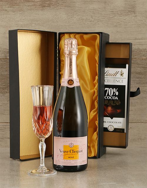 chocolate: Luxury Veuve Clicquot  Champagne & Chocolate!