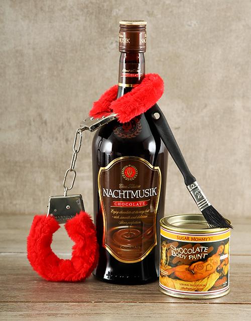 valentines-day: Chocolate Bondage Gift!