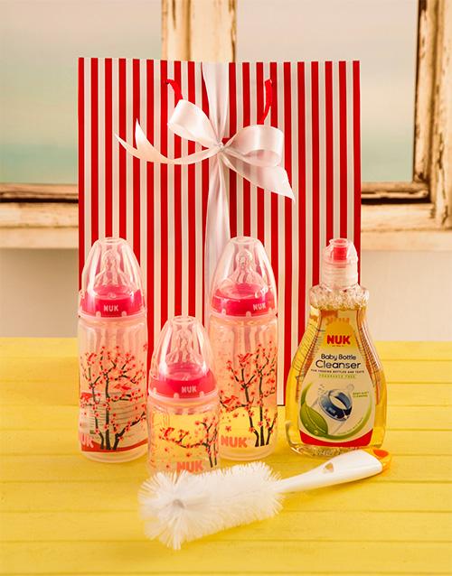 baby: Baby Girl Bottle Gift Set!