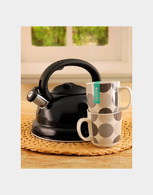homeware: Kettle and Mug Morning Set!