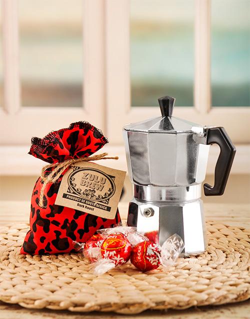 homeware: Zulu Brew Coffee and Lindt Gift!