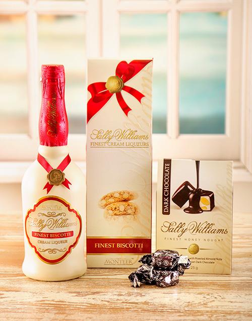 chocolate: Sally Williams Liqueur & Nougat!