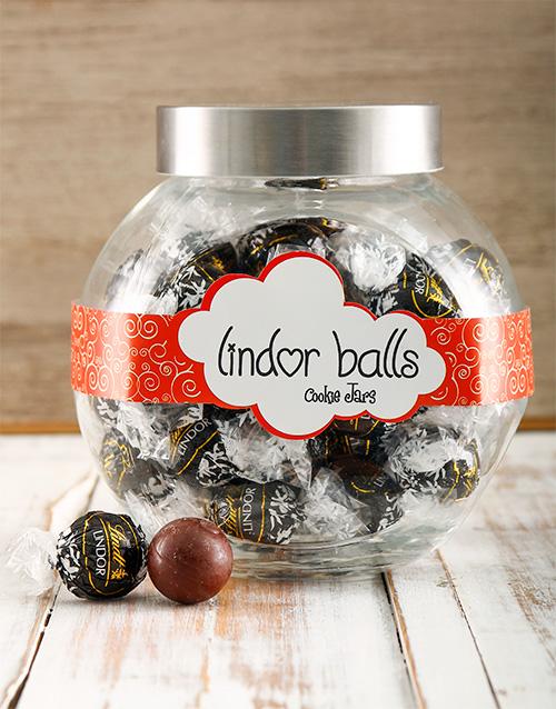 birthday: Death by Chocolate Lindt Candy Jar !