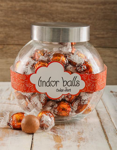 birthday: Lindt Hazelnuts For You Candy Jar!
