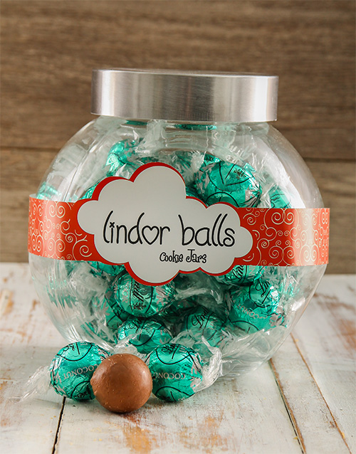 birthday: Lindt Coconuts for you Candy Jar!