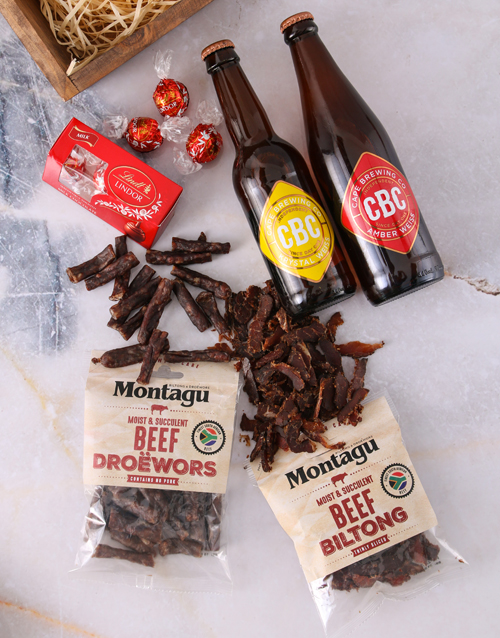 fine-alcohol: Craft Beer Biltong and Chocolate Box!