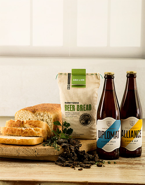 fathers-day: Garlic And Herb Craft Beer Gift Box!