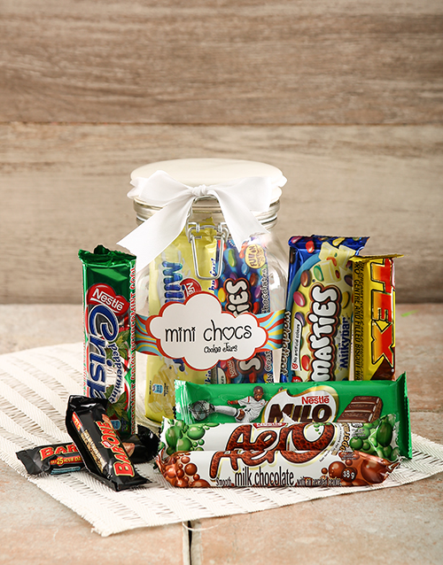 birthday: Nestle Candy Jar!