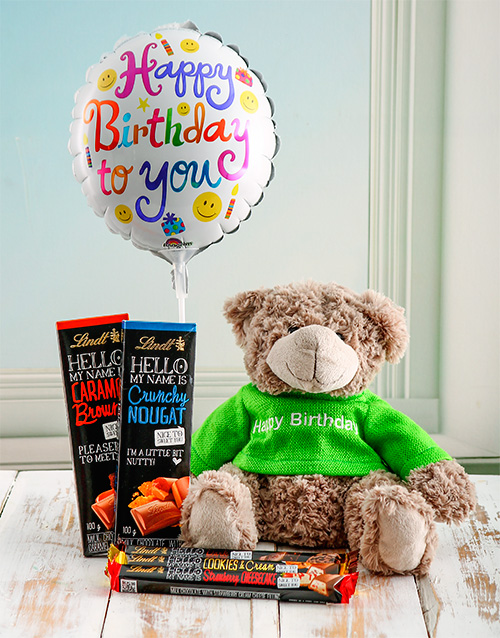 chocolate: Chocolate Teddy Birthday Box!