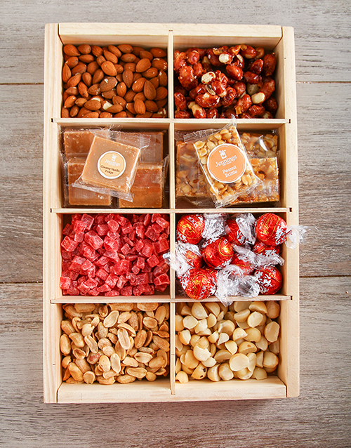 valentines-day: Supreme Nuts About Chocolate Snack Crate!