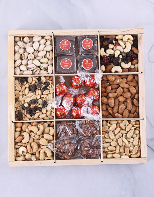 birthday: Ultimate Nuts About Chocolate Snack Crate!