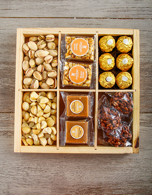 valentines-day: Nuts and Fudge Crate !