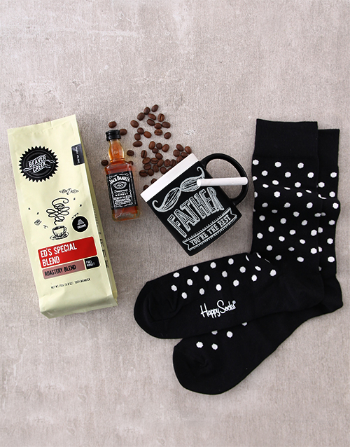 birthday: Happy Socks and Spiked Coffee!